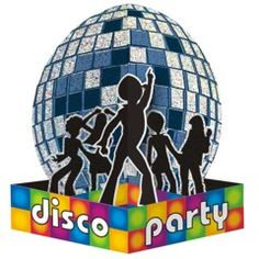 70s Disco Party Dancer Centerpiece Table Decorations from Windy City Novelties