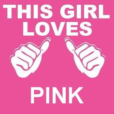 This girl loves #pink