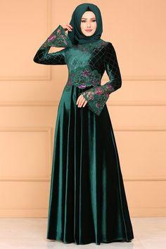 Abaya Fashion, Muslim Fashion, Fashion Dresses, Nikkah Dress, Hijab Dress, Evening Outfits, Mode Hijab, Formal Dresses, Wedding Dresses