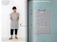 Yoshiko Tsukiori's Straight Stitch Apron and Apron Dresses Japanese Craft Boo | eBay