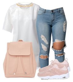 """Untitled #250"" by tdgaaf on Polyvore featuring Charlie May, Puma, New Look and Ettika"