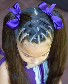 Best Picture For toddler hairstyles girl thin For Your Taste You are looking for something, and it i Toddler Hair Dos, Easy Toddler Hairstyles, Easy Little Girl Hairstyles, Girls Hairdos, Baby Girl Hairstyles, Kids Braided Hairstyles, Cute Hairstyles, Black Hairstyles, Hairstyle For Baby Girl