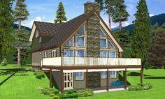 Plan #126-146 - Houseplans.com Loft style
