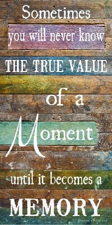True Value Of A Moment by Summer Snow Art