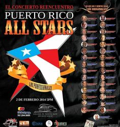 The Puerto Rico All Stars is a iconic Puerto Rican orchestra ensemble of 40 of the most distinguished Puerto Rican recording artists and musicians.
