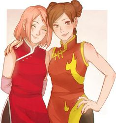 Those two together would form a grt team *^*