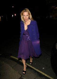 Gillian Anderson Photos: Celebs at the Finch and Joplin Dinner