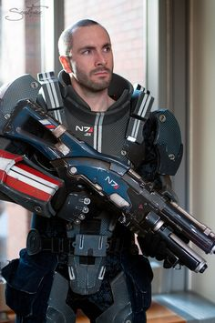 Commander Shepard - Mass Effect 3 Cosplay by Punished Props