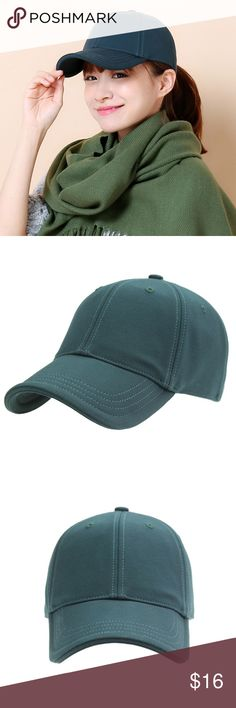 Women's Baseball Hats Cap Material: 100% cotton Pattern: Solid  Head Circumference: About 58cm  Hat Brim Width: About 7.5cm  Hat Depth: About 16cm Accessories Hats