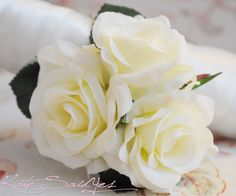 mother of the bride fresh flower corsages in ivory | Like this item?