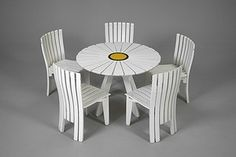 Aalto Sunflower Garden Set Nordic Furniture, Outdoor Furniture Sets, Outdoor Decor, Sunflower Garden, Alvar Aalto, Scandinavian, Design, Home Decor, Decoration Home
