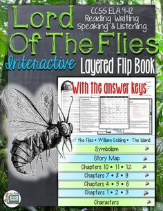 Lord of the Flies: Interactive Layered Flip Book ($)
