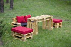 Pallet Sofa - Pallet Outdoor Furniture Set | 99 Pallets