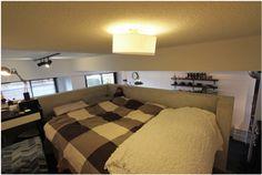 洞窟を作ることでコンパクトでも色々!広々!なマンション - 物件ファン Bedroom, Furniture, Mansion, Home Decor, Interiors, Decoration Home, Room Decor, Bedrooms, Home Furnishings