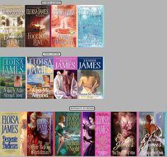 Eloisa James  One of my Favorite Authors