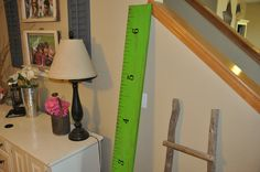 Seahawks green growth chart. Perfect for the football loving boy you love! Can do any football teams colors - just let us know which team you root for!