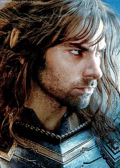 I don't know if it's weird or not but I thought some of the dwarves in The Hobbit were so handsome....