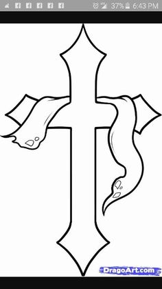 drawings cross draw drawing crosses sharpie easy designs tattoo simple pencil step holy dot praying hands coloring cool tattoos christian