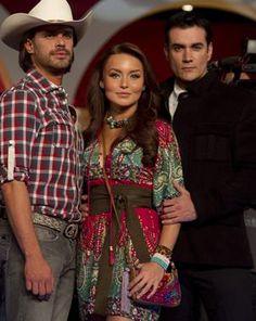 Mark Tacher, Angelique Boyer y David Zepeda en Abismo de Pasíon...love all of them!