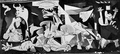 PICASSO Pablo - Guernica - tracés - 1936 - 5