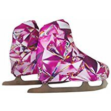 Protect your ice or roller skates from scratches! Shop now our skate boot covers in many fun colors and prints! Figure Skating Dresses, Baby Car Seats, Skate, Diamond, Boots, Cover, Shopping, Collection, Fantasy