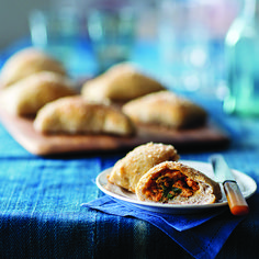 Turkey Sausage-Stuffed Pizza Pockets - Shape.com