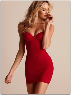 red fit, dress, sexy, Candice Swanepoel From Women Are Beautiful 2 board Sexy Outfits, Sexy Dresses, Tight Dresses, Candice Swanepoel, Lingerie Rouge, Red Lingerie, Stockings Lingerie, Lingerie Dress, Beauty And Fashion