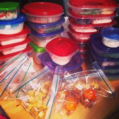 This blog explains how to meal prep & even provides meals for the week! Pin now, read later