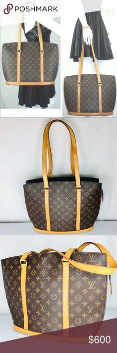 255770b5f0f7 Louis Vuitton Monogram Shoulder Bag Like New Condition  Good like new