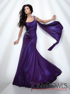 I was honored to wear my Tony Bowls gown to represent New Jersey ...