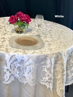 16 awesome lace tablecloth wedding images ideas lace tablecloth rh pinterest com