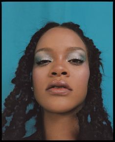 photoshoot Rihanna in Allure US October 2018 by Nadine Ijewere Makeup Inspo, Makeup Inspiration, Beauty Makeup, Hair Makeup, Hair Beauty, Estilo Rihanna, Mode Rihanna, Pretty People, Beautiful People