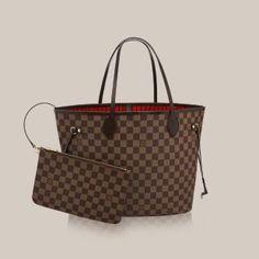 49f4ad7007 Neverfull MM Damier Ebene Canvas - Handbags