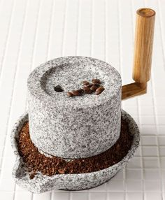 Do You Love Coffee? Try Our Tips - Coffee Grinder - Ideas of Coffee Grinder - Rakuten: A stone mill (small / old type) (about): in diameter (captured go stone gross weight: kg- Shopping Japanese products from Japan I Love Coffee, Coffee Break, My Coffee, Coffee Girl, Starbucks Coffee, Coffee Cafe, Coffee Drinks, Coffee Shop, Coffee Humor