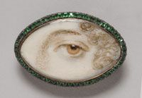 Portrait of a Woman's Left Eye, c. 1800, England (Philadelphia Museum of Art: Gift of Mrs. Charles Francis Griffith in memory of Dr. L. Webster Fox, 1936-6-13)