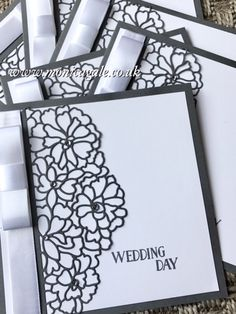 STAMPIN'UP! UK- Top UK Demonstrator Monica Gale-01405 862902-DN14 9QZ: So In Love Wedding Invitations