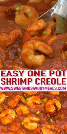 Creole is a classic southern dish that doesn't stray far from good taste or tradition.Shrimp Creole is a classic southern dish that doesn't stray far from good taste or tradition. Easy Chicken Dinner Recipes, Shrimp Recipes Easy, Cajun Recipes, Seafood Recipes, Cooking Recipes, Recipe For Steamed Shrimp, Killer Shrimp Copycat Recipe, Shrimp Creole Recipe New Orleans, Cajun And Creole Recipes