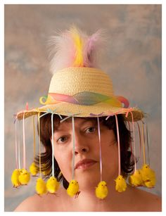 Easter bonnet   My contribution to the parade :D H thinks I …   Flickr