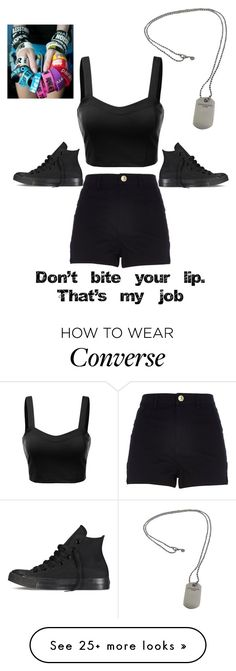 """Hahaha yeah. I'm half asleep so..."" by bands-music on Polyvore featuring River Island, J.TOMSON, Converse, Tiffany & Co., women's clothing, women's fashion, women, female, woman and misses"