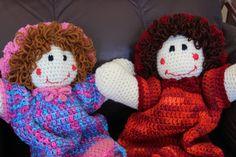 Pajama Bag Doll  Ragdolls  Soft Doll  Dolls by BeesHandmadeGifts