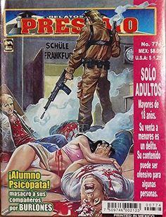 "Mexican True Crime Comic Series ""Relatos de Presidio"" #774 - ""Alumno Sicópata"" by Editorial Toukan http://www.amazon.com/dp/B00LZ9217A/ref=cm_sw_r_pi_dp_zkrEvb1PRWJWB"