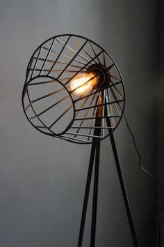 Tripod Floor Lamp – Black @ Interior Design Ideas
