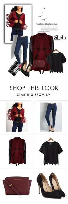 """SheIn III"" by almma-karic ❤ liked on Polyvore featuring MICHAEL Michael Kors, Marc Jacobs and shein"