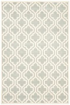 Starting at $49 - Safavieh Chatham CHT727E Grey and Ivory Contemporary Area Rugs - http://www.boldrugs.com/Safavieh-Chatham-CHT727E-Grey-and-Ivory-rugs.html