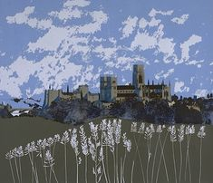 England Paintings Gallery   Peter Yates, Artist and Architect Painting Gallery, Art For Art Sake, Durham, Artist Painting, Landscape Art, Britain, New York Skyline, England, Palaces
