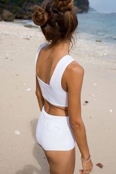 Makara wear sustainable minimal swimwear and active wear brand Swimsuits, Bikinis, Swimwear, Sporty Bikini, Designer Wear, Active Wear, Elegant, How To Wear, Women