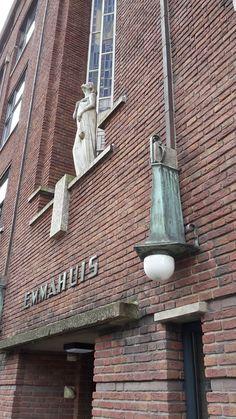 Fantastische gevel van Emmahuis Rotterdam