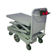 Battery Electric Powered, Lift Trolley, 425-1600mm Lift height, 400kg Capacity