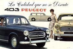 Peugeot 403 depliant