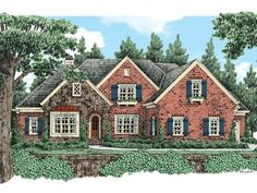 086H-0035: Luxury House Plan with Open Floor Plan